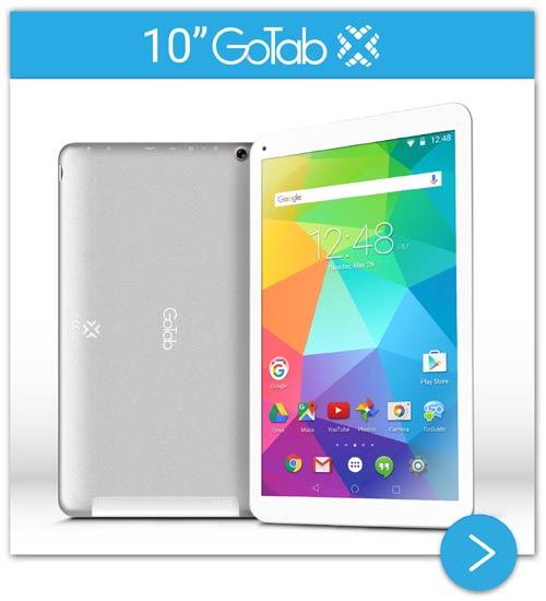 10-inch GoTab X Android Lollipop Tablet GT10X+