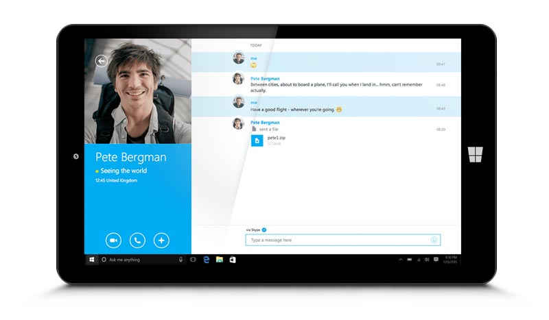 Make free skype to skype calls get some face time with video calls