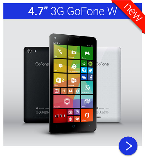GoFone Windows Phone 8 Smart Mobile Phone