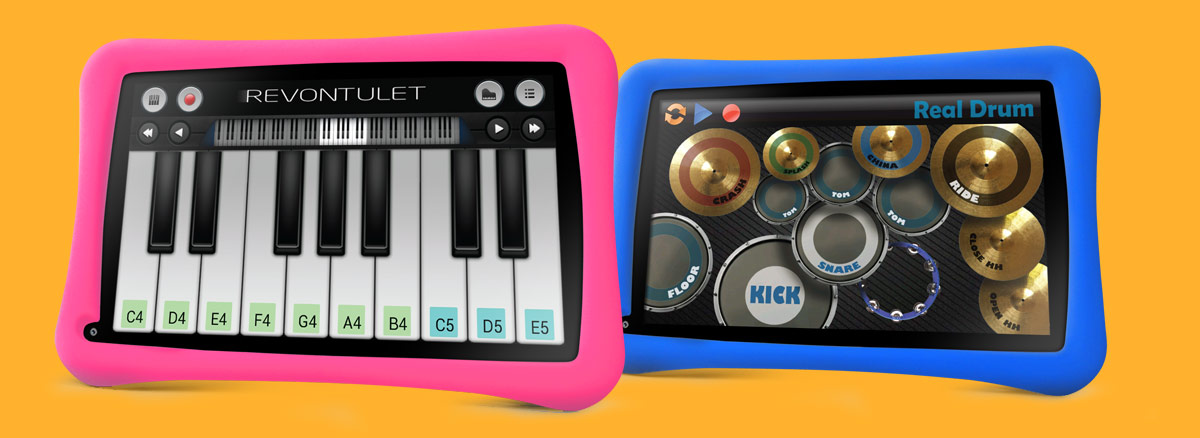 GoTab-Appi-best-Childrens-tablet-play-music-paino-drums-on-a-tablet