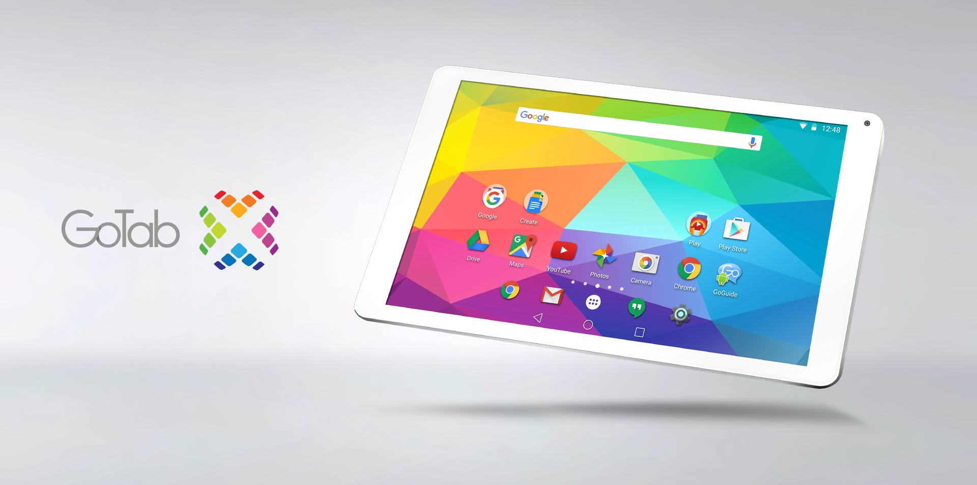 10-inch GoTab X Android Lollipop Tablet GT10X+