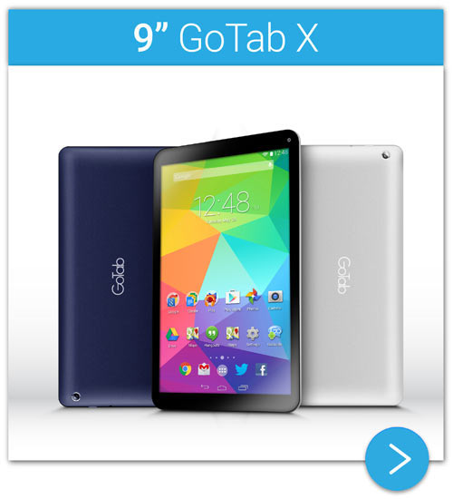 9 inch GoTab X Android KitKat Tablet GT9X - Go
