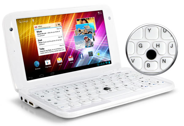 GoNote Touchscreen android kids netbook with qwerty keyboard mouse
