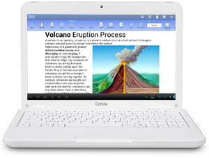 10 inch GoNote Touchscreen Android Netbook Document Writer Word