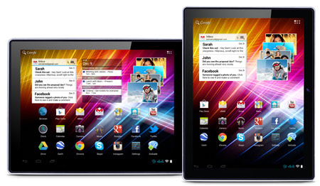 GoGuide GoTab Epic V - Android 4 Capacitive Multitouch Tablet GBT97 V