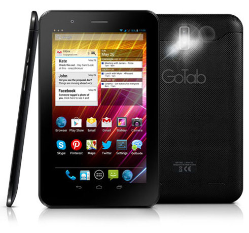 GoTab GBT73G Tablet Phone - 3G Android 4.1 Jelly Bean Dual Core iplayer youtube streaming video